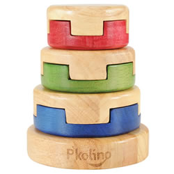 Six Ring Puzzle Stacker