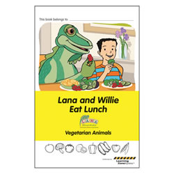 Storybook 1: Lana and Willie Eat Lunch
