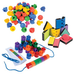 Small Manipulative Set (Set of 3)