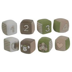 Cuddly Plush Blocks (Set of 4)
