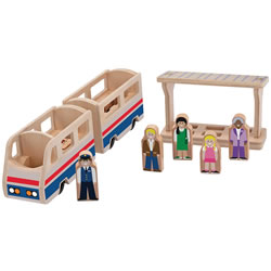 Train Platform Play Set