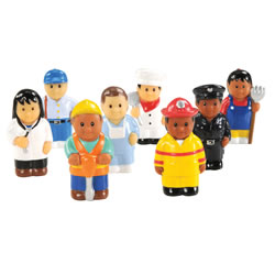 Community Workers Set (Set of 8)