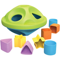Eco-Friendly Shape Sorter
