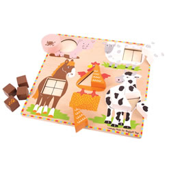 Farm Shape Sorter