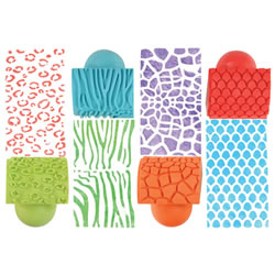 Animal Pattern Rockers (Set of 4)