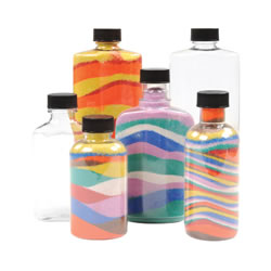 Sand Art Bottles (Set of 8)