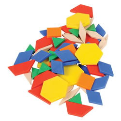 Pattern Blocks (250 Pieces)