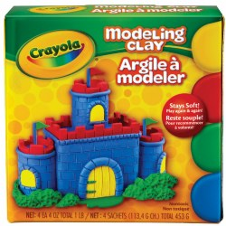 Crayola® Modeling Clay (Single Box)