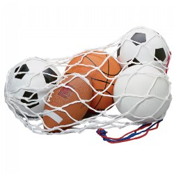 Sports Ball & Bag Set (set of 5)