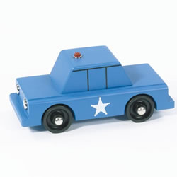 Wooden Adventure Vehicles - Police Car