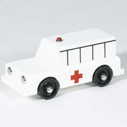 Wooden Adventure Vehicles - Ambulance