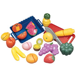 Sliceable Fruits & Vegetables Set (32 pcs.)