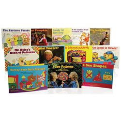 Learn to Read Math Level 1 -  Variety Pack Grades K-1 (Levels A-J)