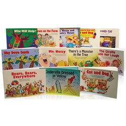 Learn to Read Level 2- Fun & Fantasy Variety Pack Grades K-1 (Levels C-F)