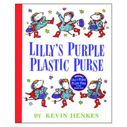 Lilly's Purple Plastic Purse - Hardback