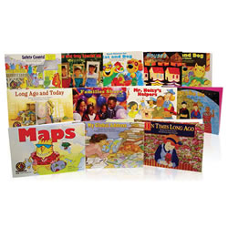 Learn to Read Level 2 - Social Studies Variety Pack Grades K-1 (Levels C-G)