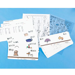 Action Phonics Cards