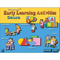 Stickybear Learning Activities Deluxe
