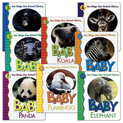 San Diego Zoo Book Set (Set of 8)