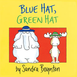 Blue Hat, Green Hat Board Book