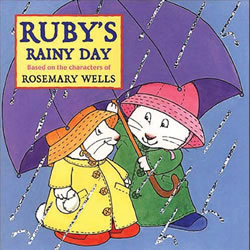 Ruby's Rainy Day Board Book
