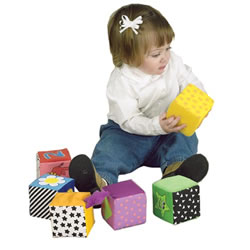 Stacking Activities Blocks (Set of 6)