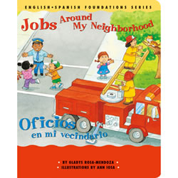 Jobs Around My Neighborhood - Board Book