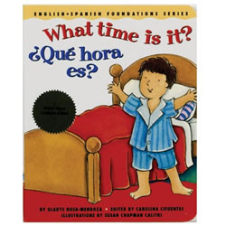 What Time Is It Board Book