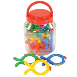 Edushape Fishies Plastic Links (16 piece)