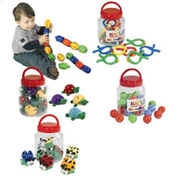 Infant Library Manipulative Jars (Set Of 5)