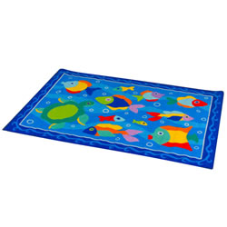 "Something Fishy Rug - 39"" x 58"""