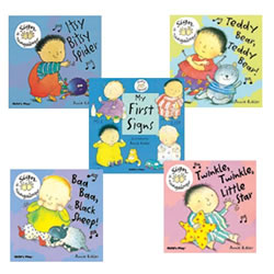 Baby Signing Board Books (Set of 4)