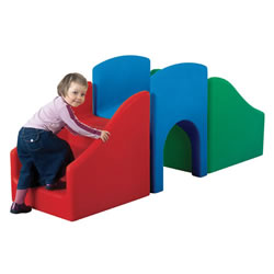 BABIxplore Step and Slide Center