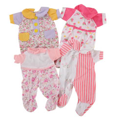 Sleepwear Clothes For 10 - 13 Inch Dolls