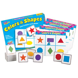 Color & Shapes Match-Me Game