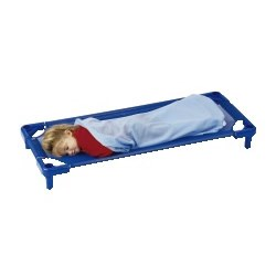 K System® Standard Stackable Cot - Blue (set of 5)