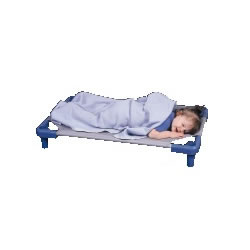 K System® -- Toddler Stackable Cot - Blue