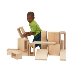 Junior Hollow Block Set (16 pcs)