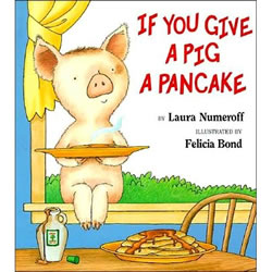 If You Give A Pig A Pancake - Hardback