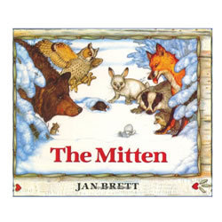 The Mitten (Boardbook)