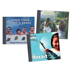 Mozart Makes You Smarter Series (CDs)