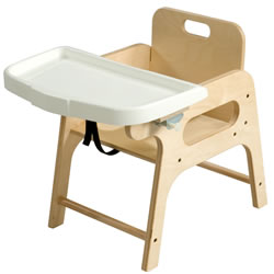"Toddler Chair with Tray (9"" Seating Height)"