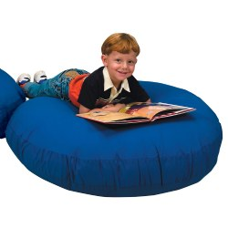 "Cozy Lounger - Solid Blue (45"" diameter)"