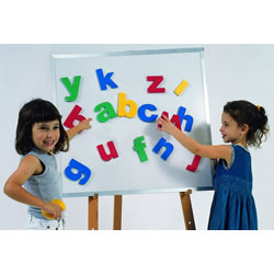 Jumbo Magnetic Letters w/ Tote Bag - Lowercase