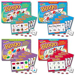 Bingo Games Set of 4