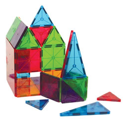 Magna-Tiles® Translucent Colors (100 pieces)