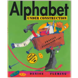 Alphabet Under Construction (Hardcover)