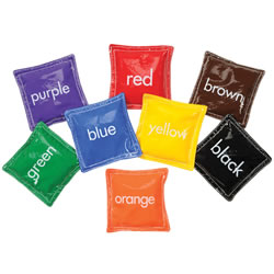 Color Bean Bags (Set of 8)
