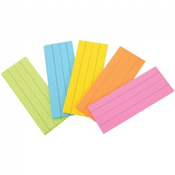 Word Strips Ruled Multi-color (75 per pack)