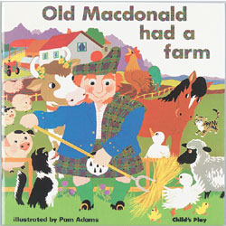 Old MacDonald Had A Farm - Big Book